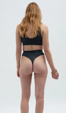 Shaped high waist thong-3
