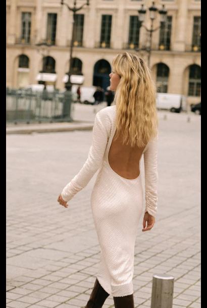 Marcel Sequin Backless Dress