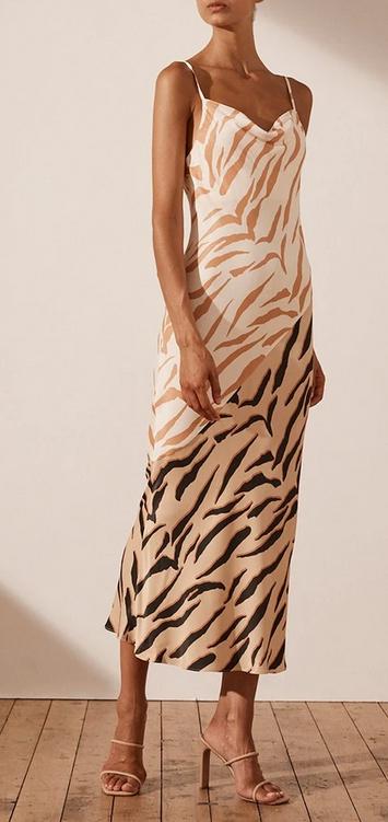 Olson Contrast Dress-5