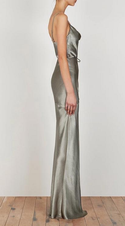 La Lune Slip Dress-5