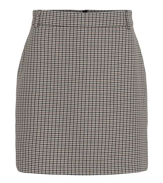 Chariton Check Skirt-1