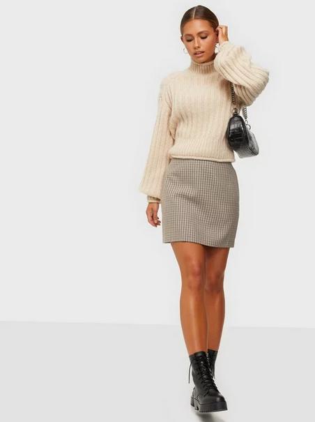 Chariton Check Skirt-3