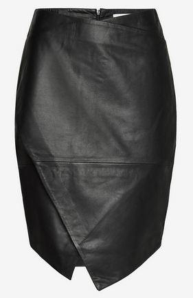 Abigale Leather Skirt-1