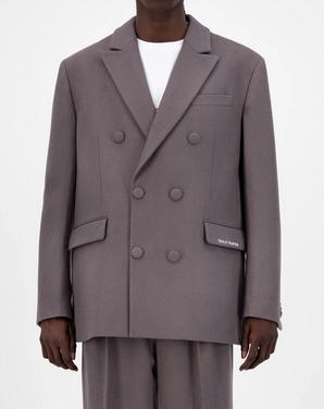 Eheck Wool Blazer-1