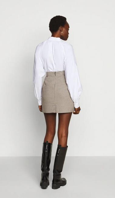 Chariton Check Skirt-5