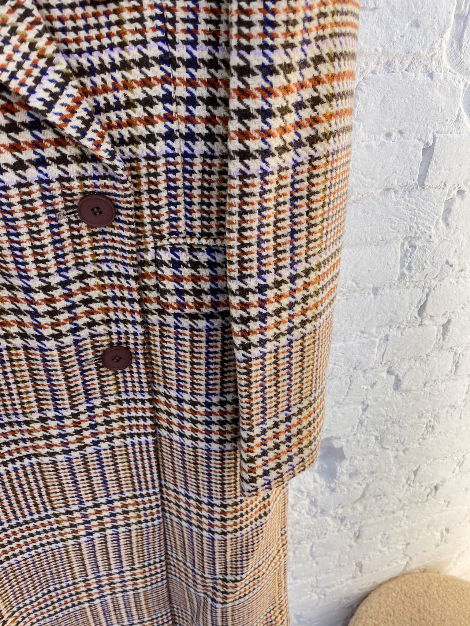Duster Check Coat-2