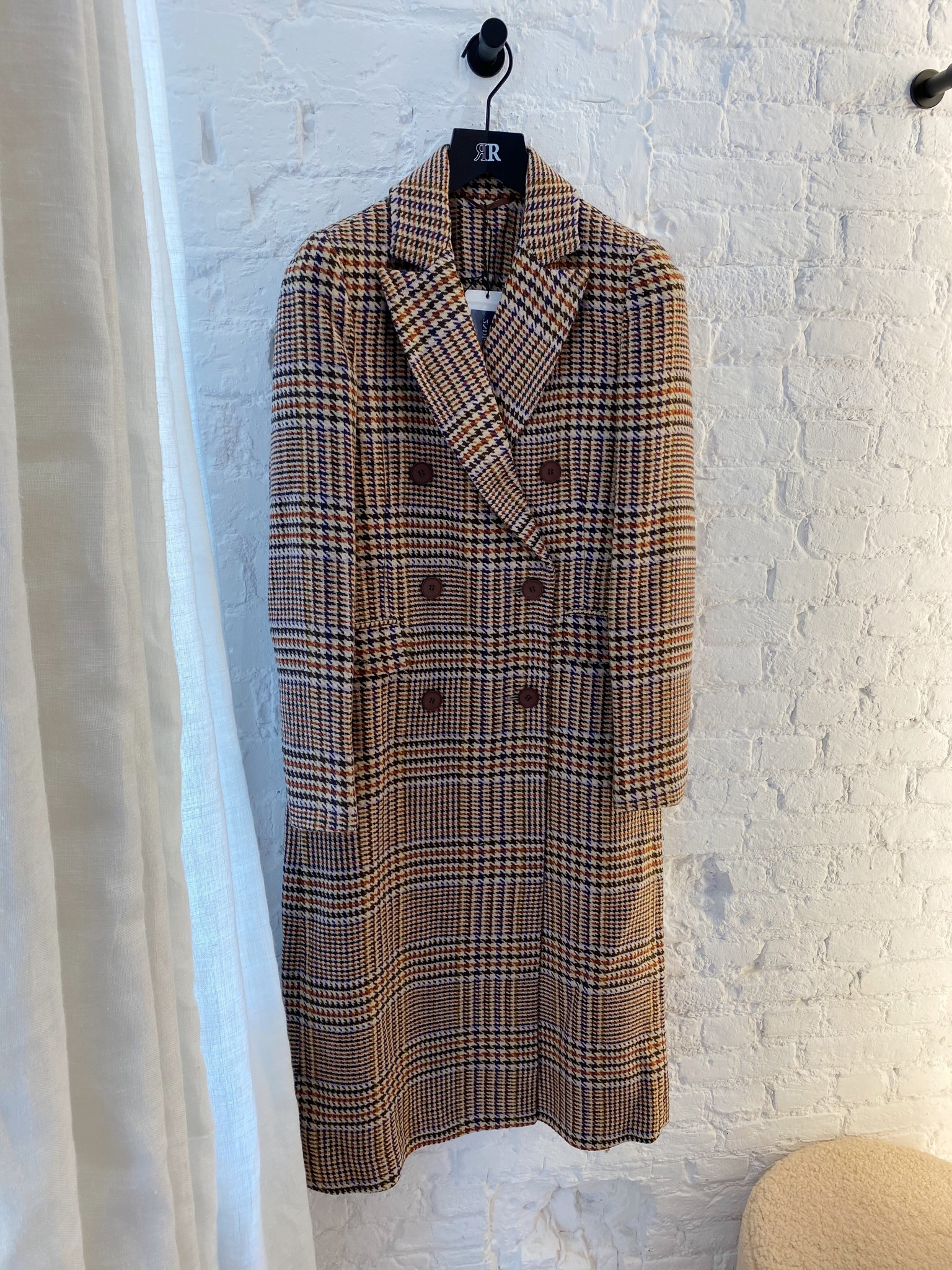 Duster Check Coat-3