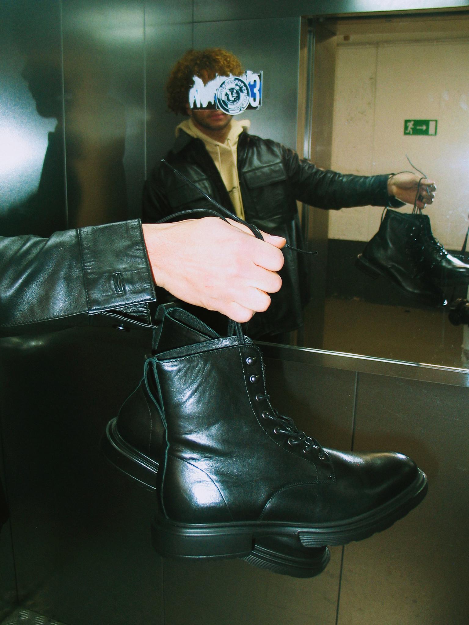 Mili Lace Boots-1