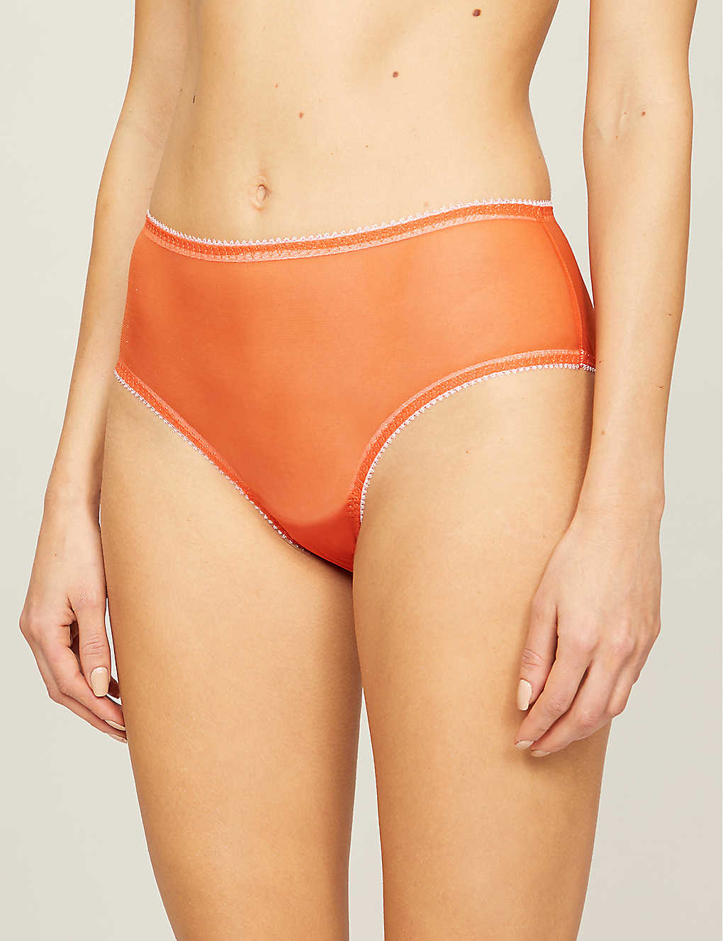 Mesh high waist panties-2
