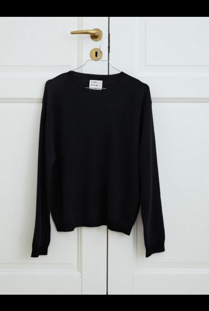 Boxy Cashmere Knit