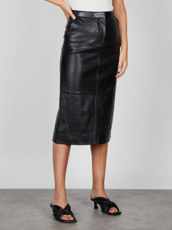 RR Varity Leather Skirt