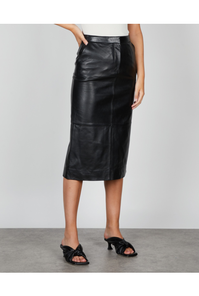 Varity Leather Skirt