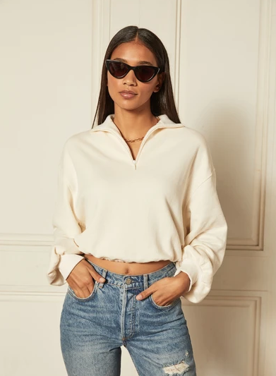 Jimmy Cropped Sweater-1