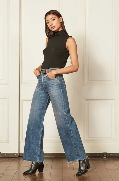 Charly Wide Leg Jeans-1