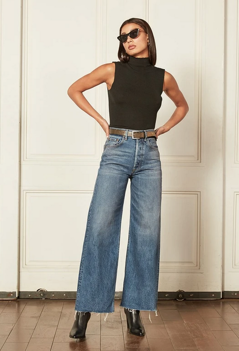 Charly Wide Leg Jeans-2