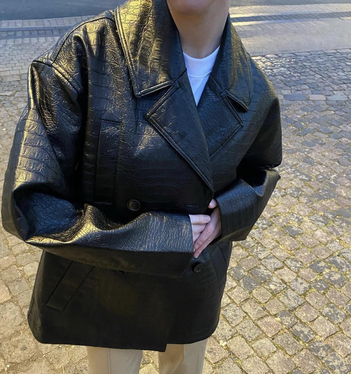 Lena Oversized Blazer-4