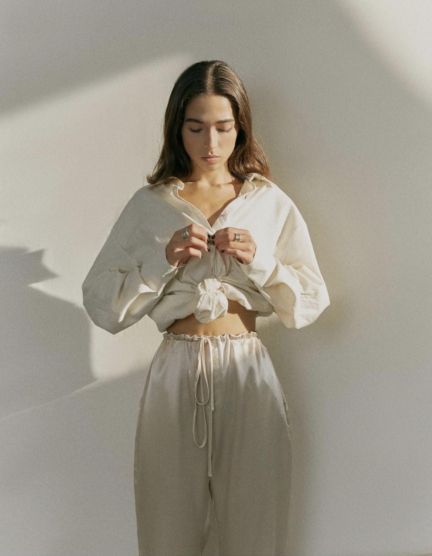 Frances Zijden Blouse-5