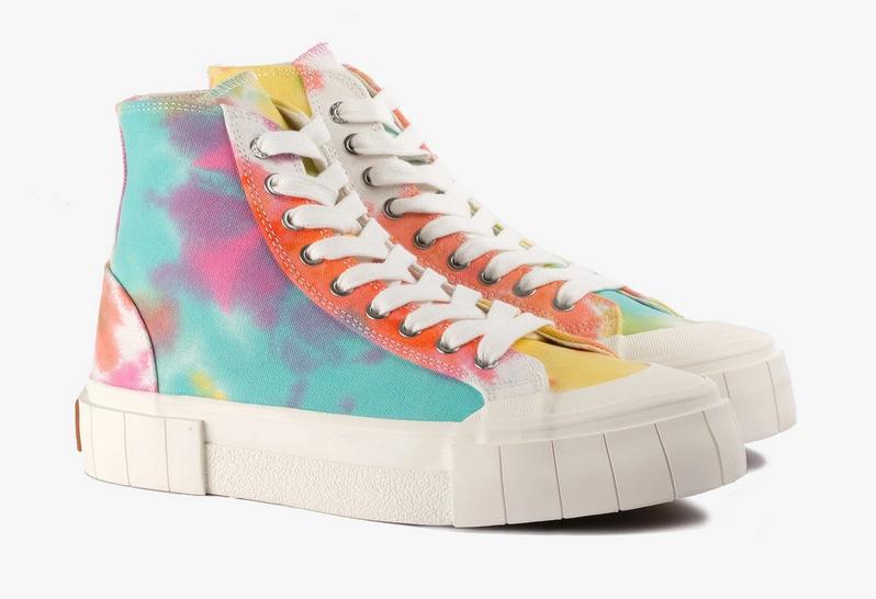 Palm Tie Dye Sneakers-1