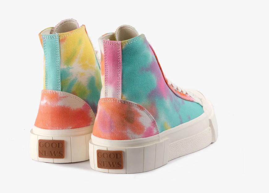 Palm Tie Dye Sneakers-5