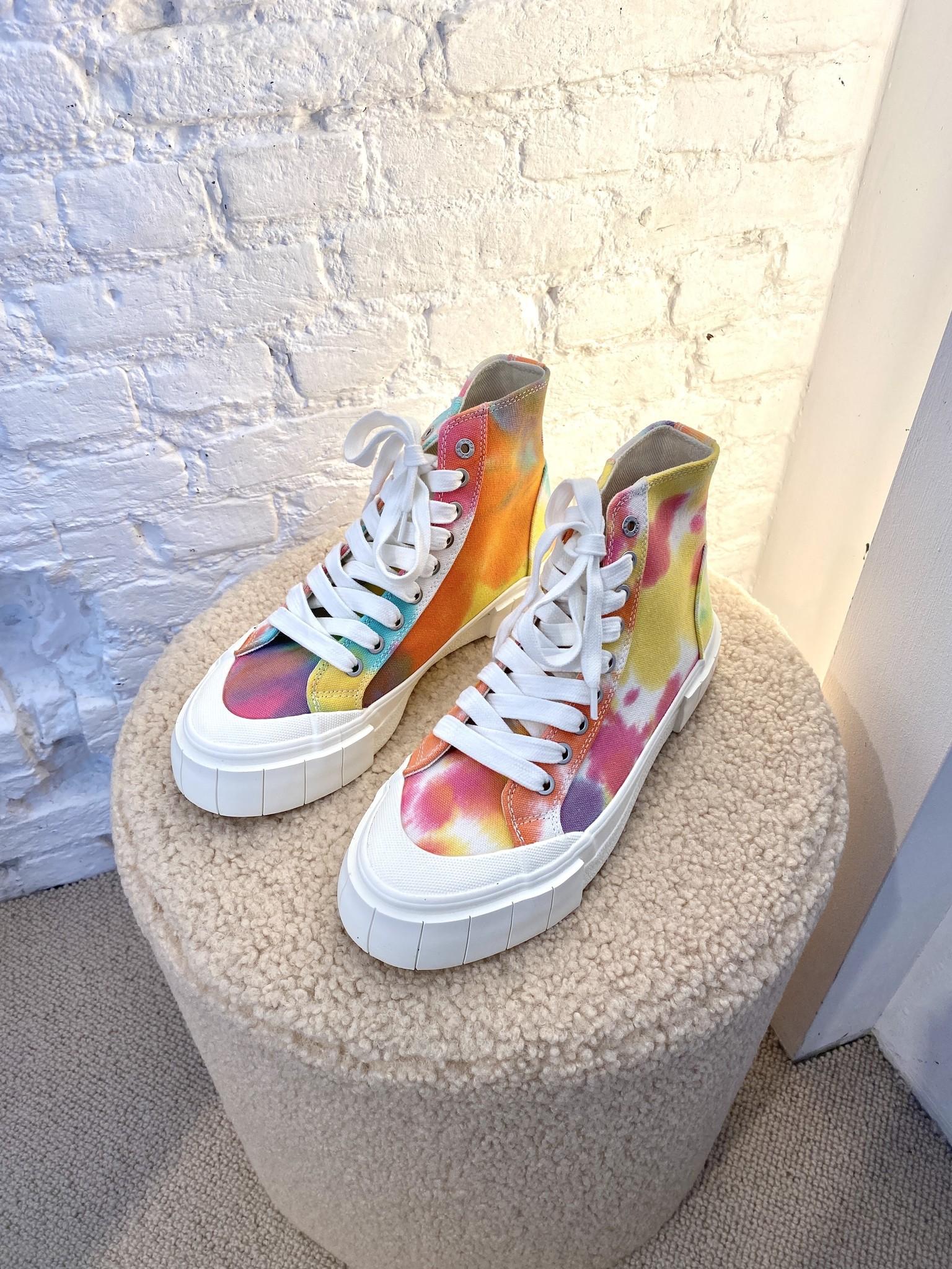 Palm Tie Dye Sneakers-6