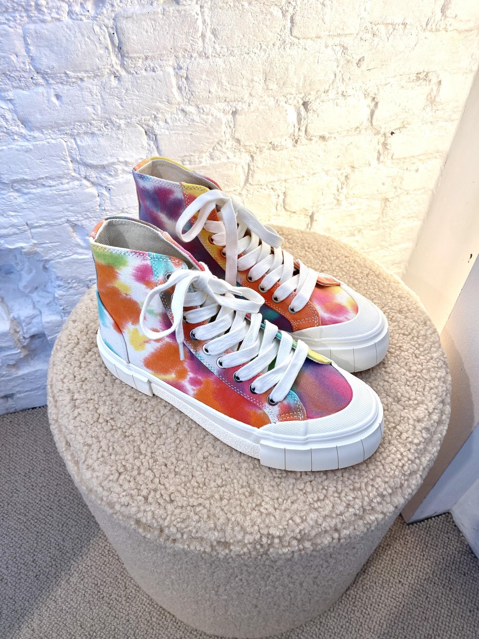 Palm Tie Dye Sneakers-2