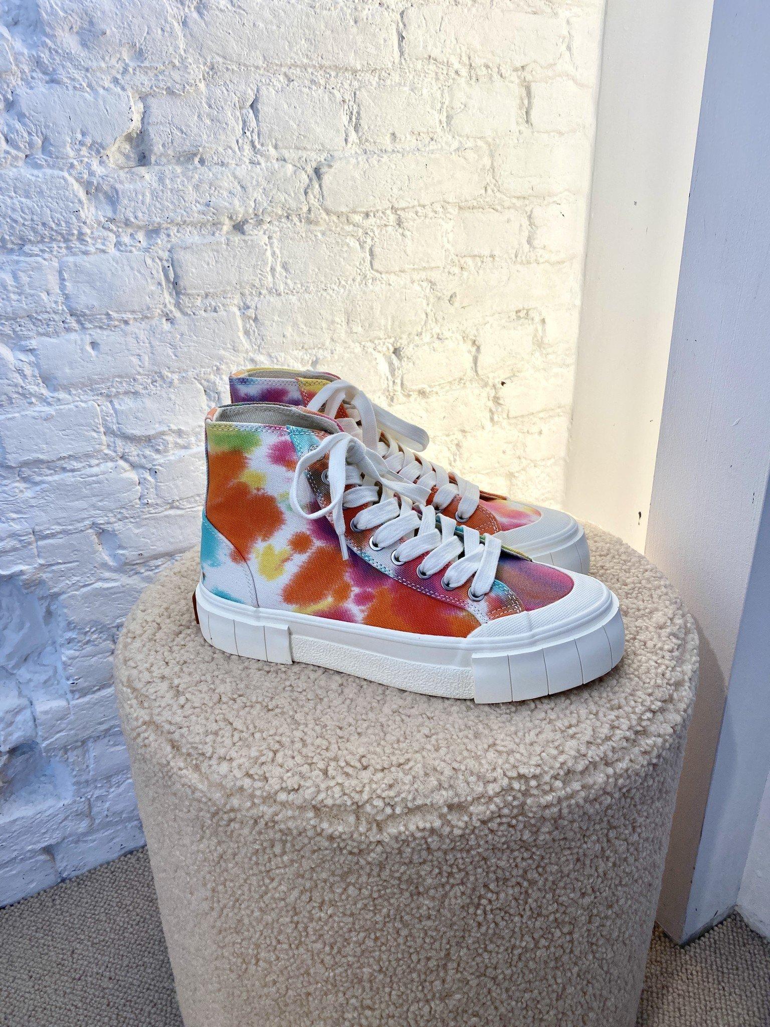 Palm Tie Dye Sneakers-4
