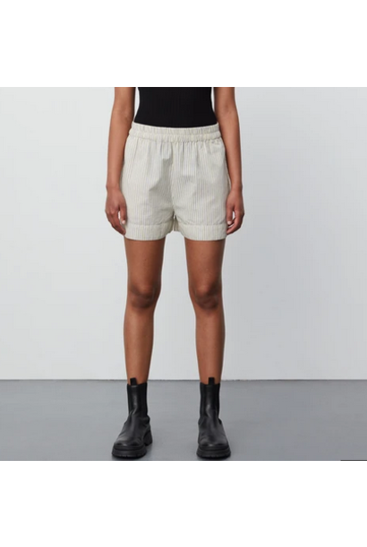 Kassandra Striped Shorts