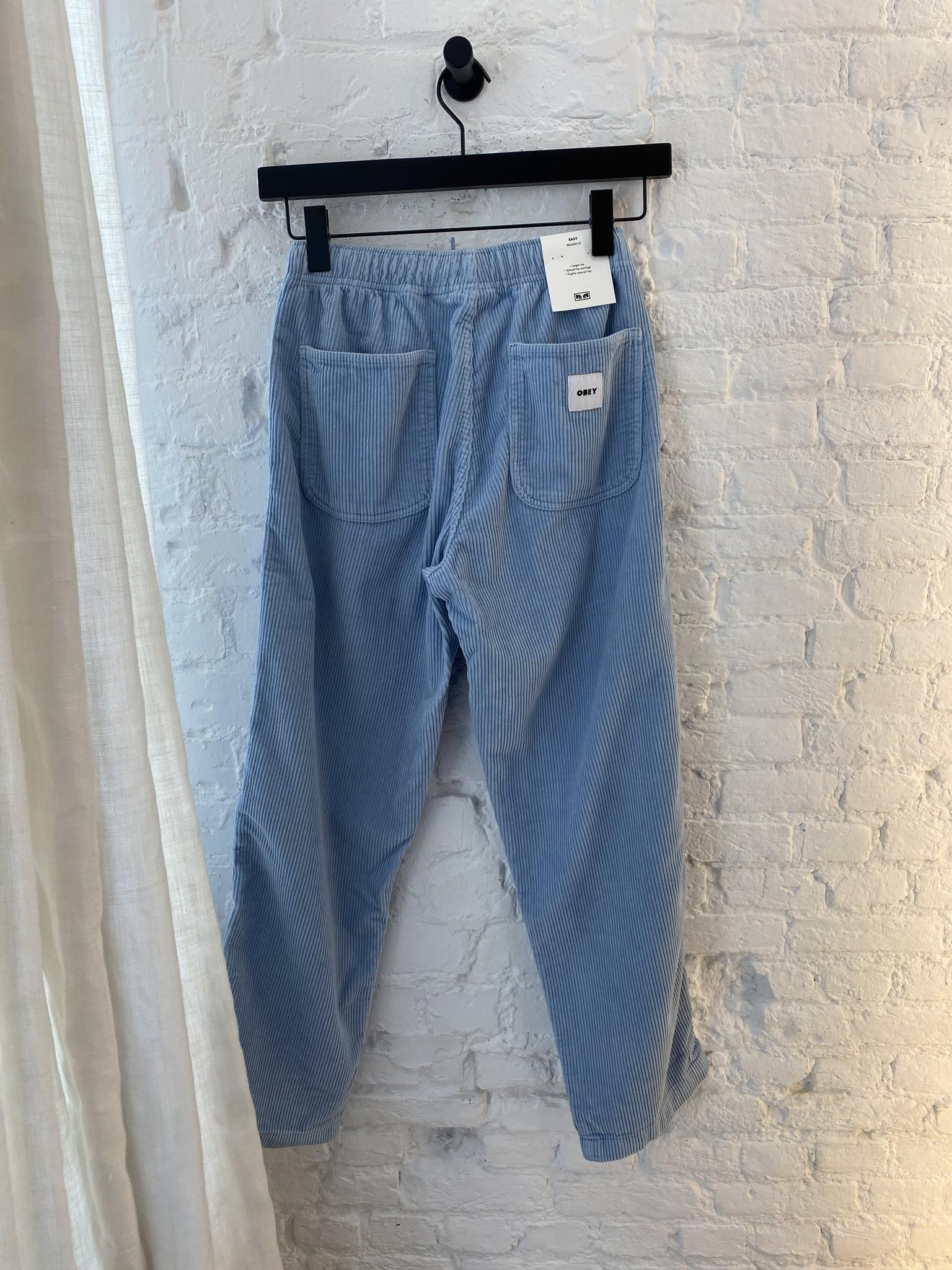 Easy Corduroy Trousers-5