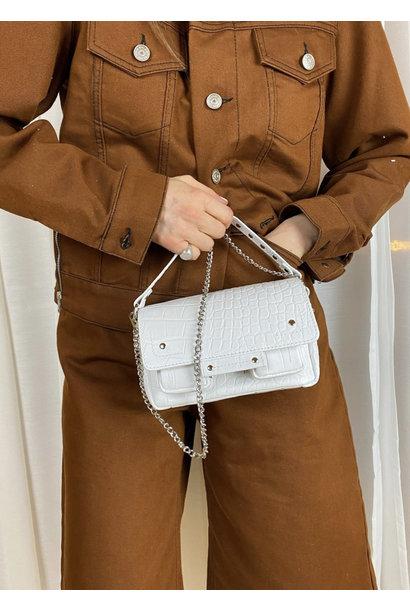 Small Honey Croco Bag