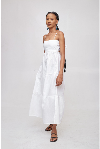 Sicily Linen Dress