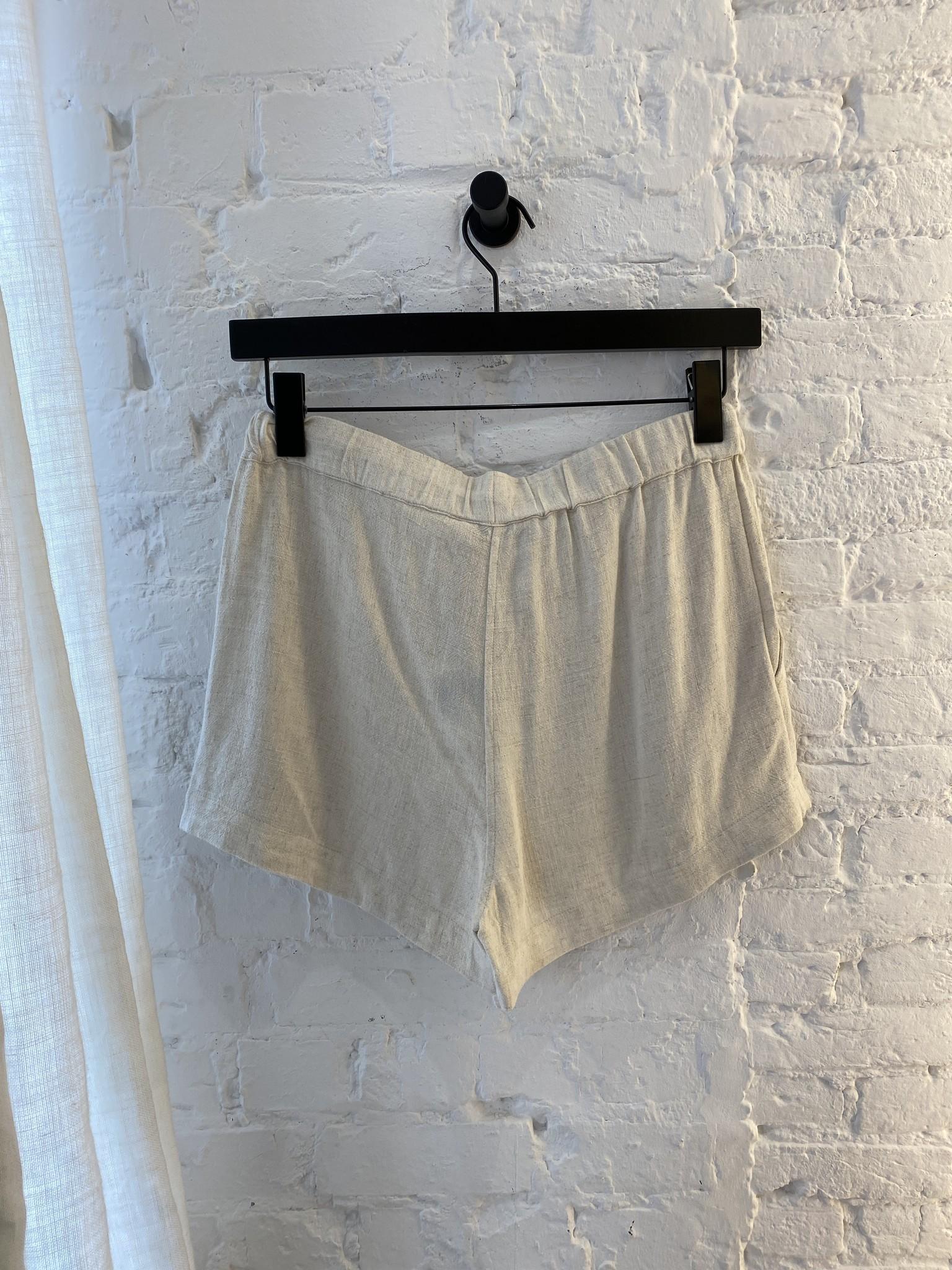Beau Linen Shorts-4