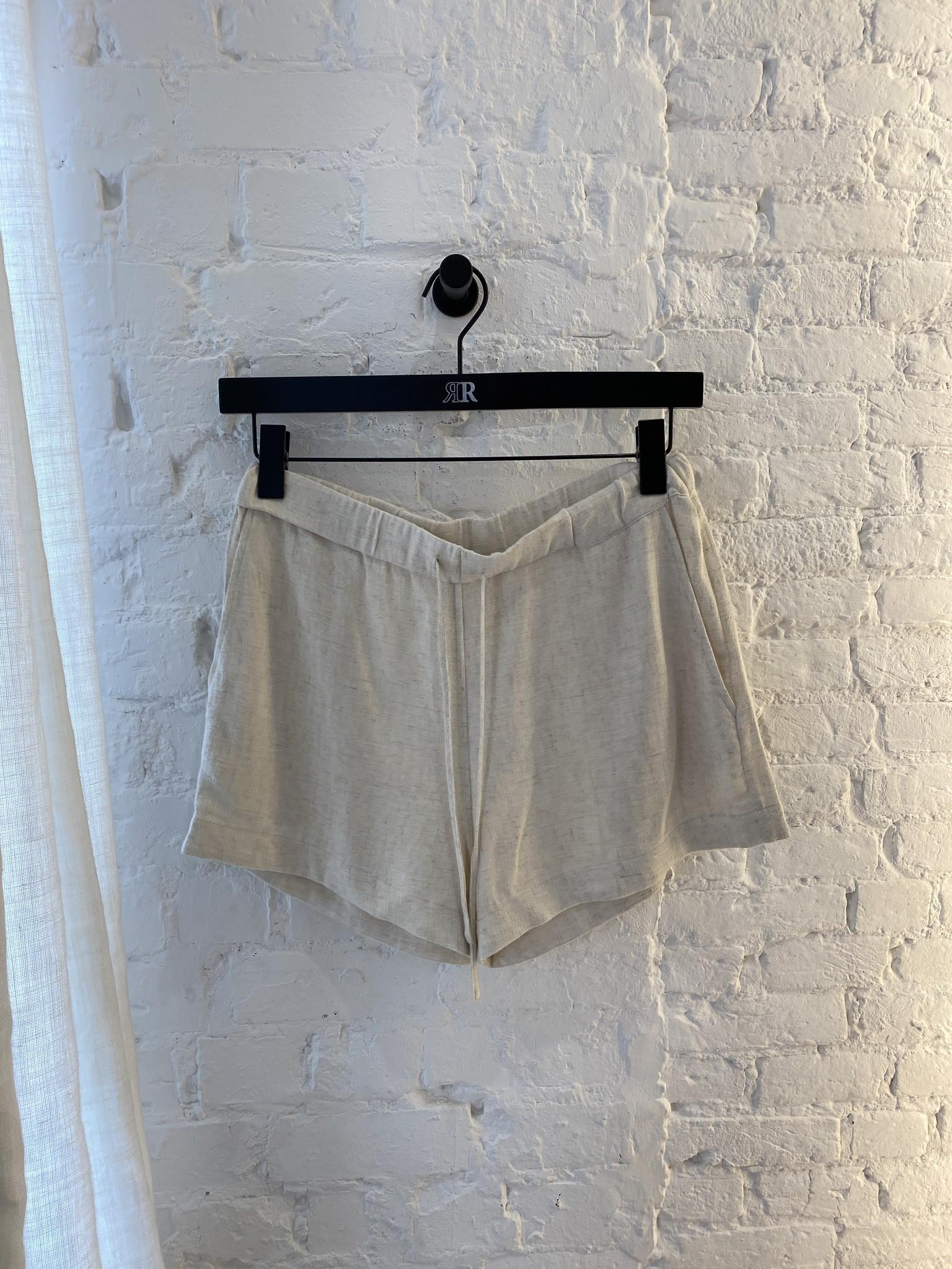 Beau Linen Shorts-2
