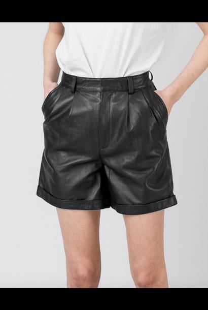 Suzy Leather Shorts