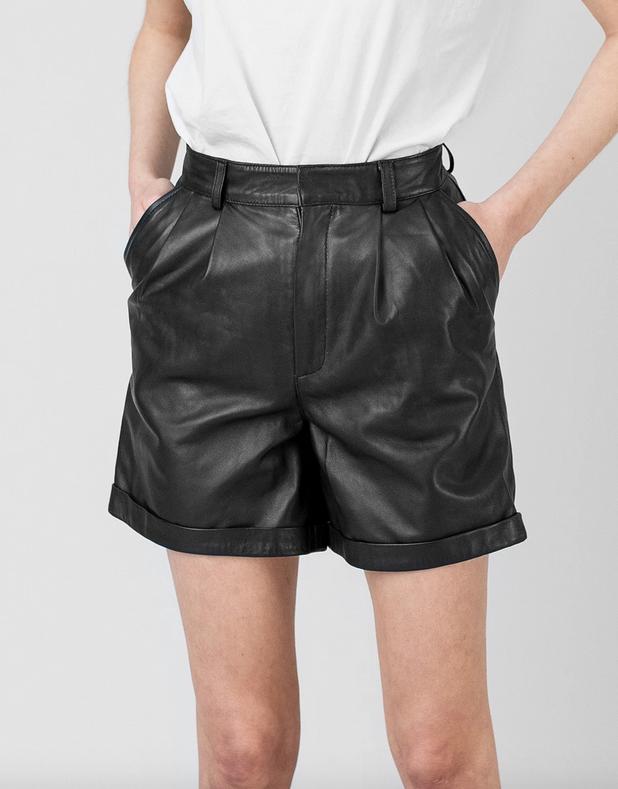 Suzy Leren Short-1