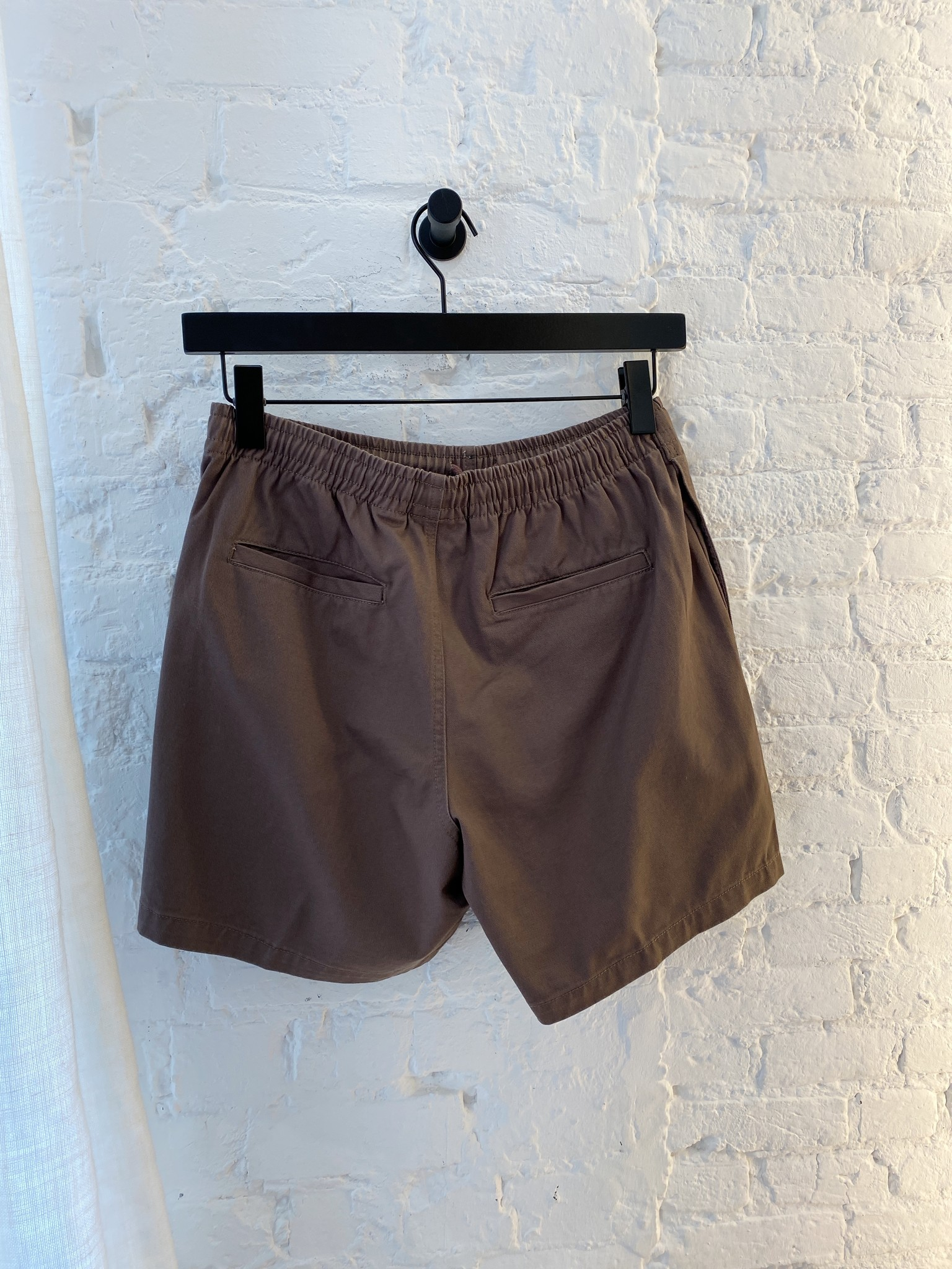 Easy Relaxed Twill Short-5