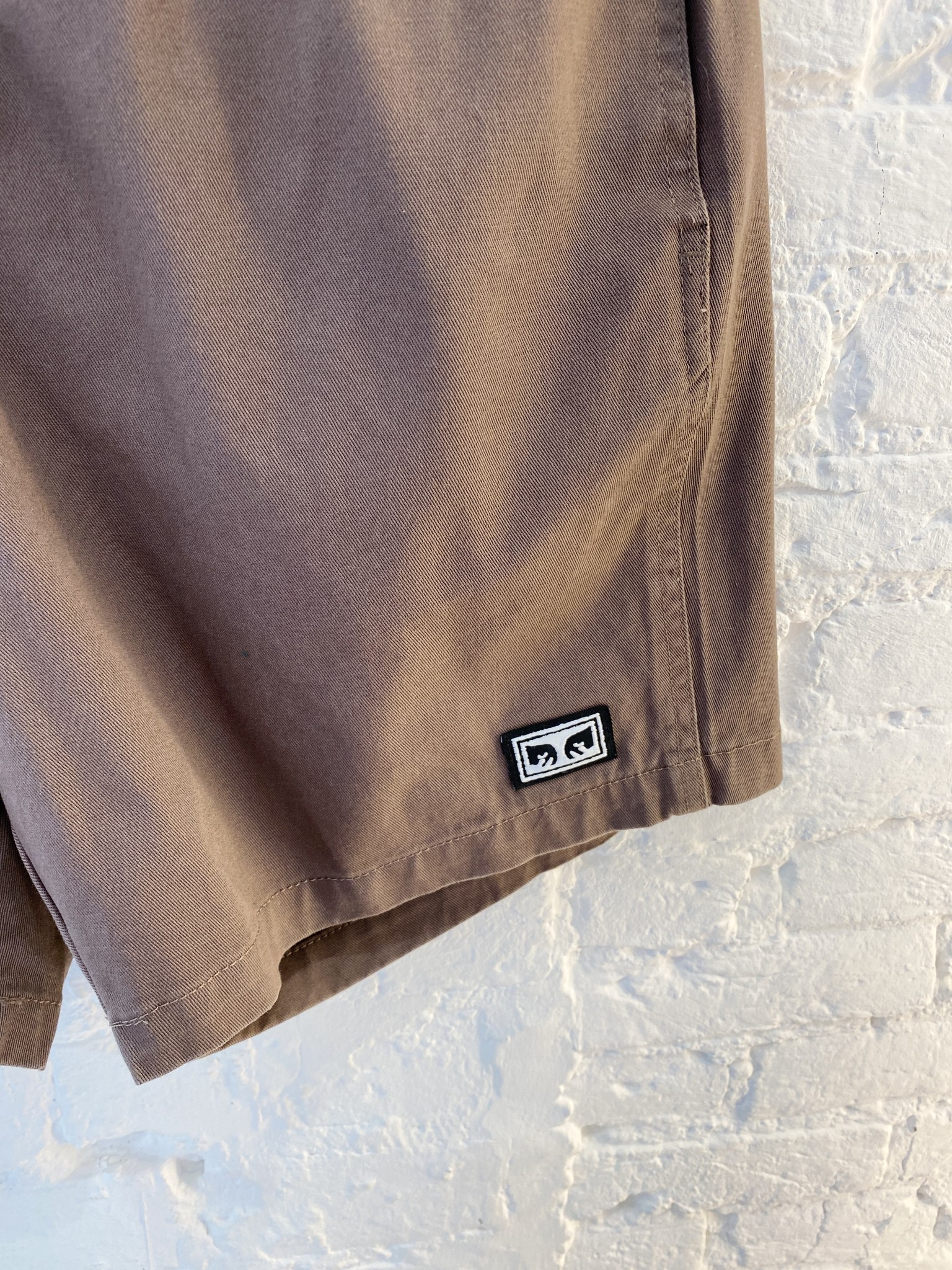 Easy Relaxed Twill Short-4