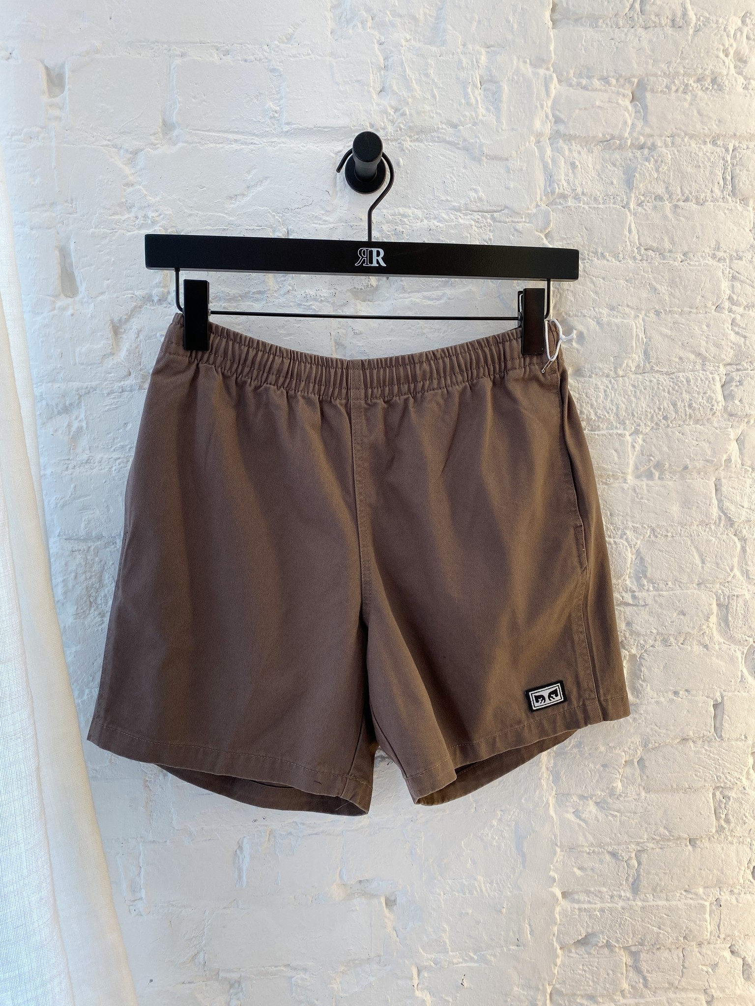 Easy Relaxed Twill Short-3