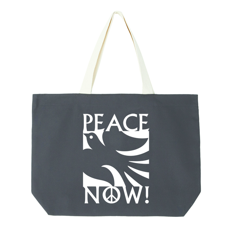 Peace Now Tote Bag-2