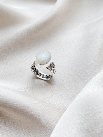 RR Ring 61 Maansteen