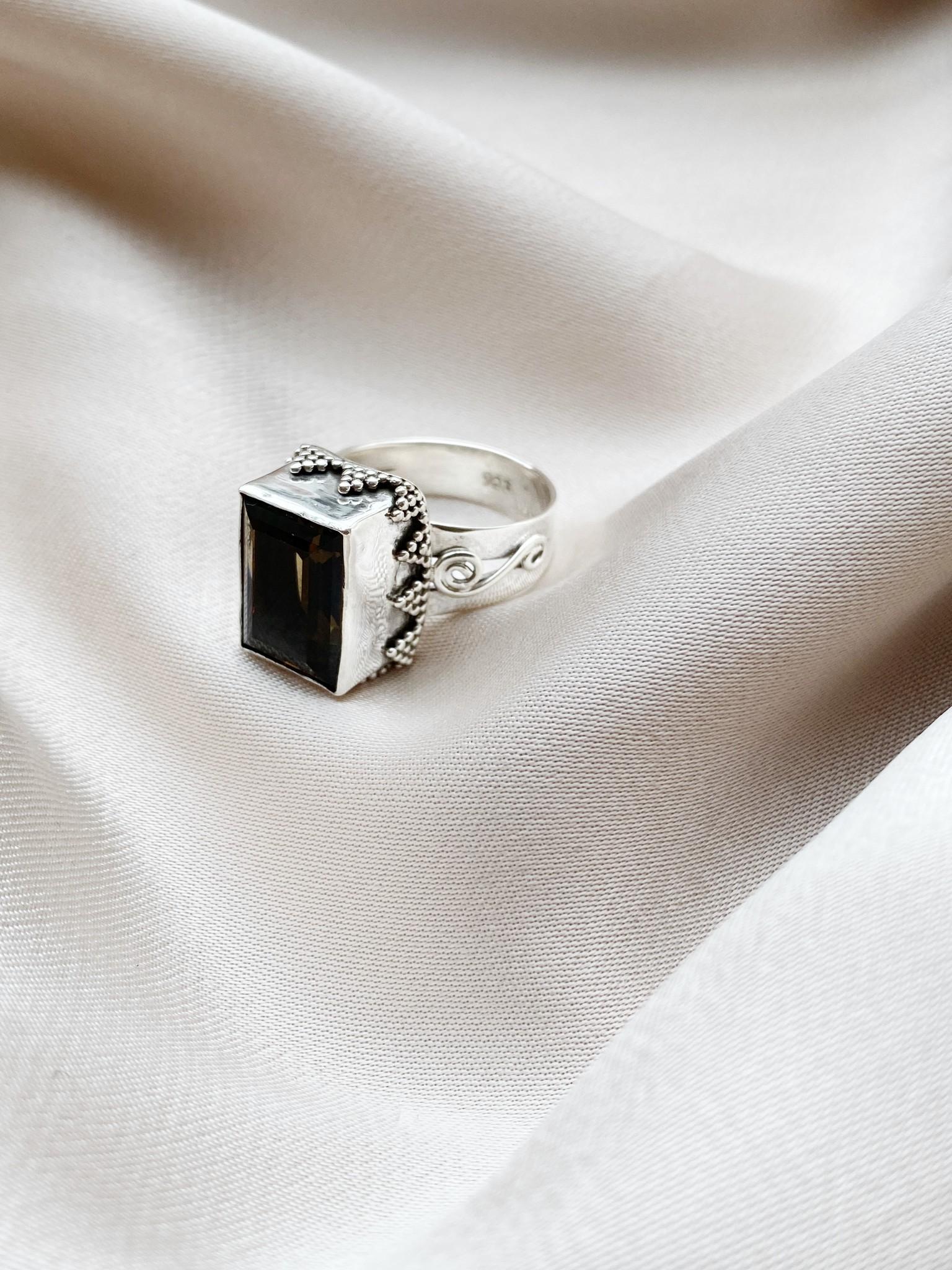Ring 76 Smoky Quartz-3