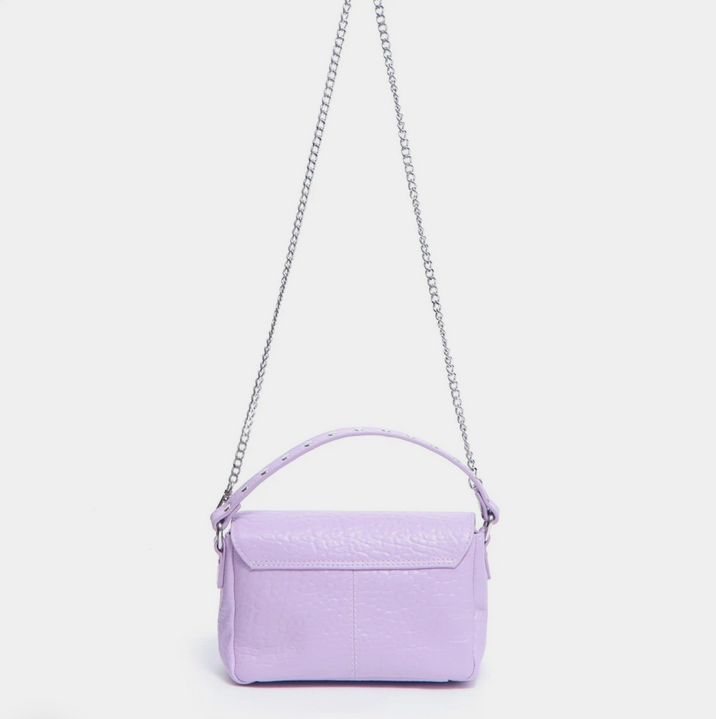 Small Honey Leather Bag-6