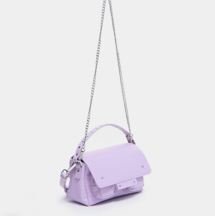 Small Honey Leather Bag-2