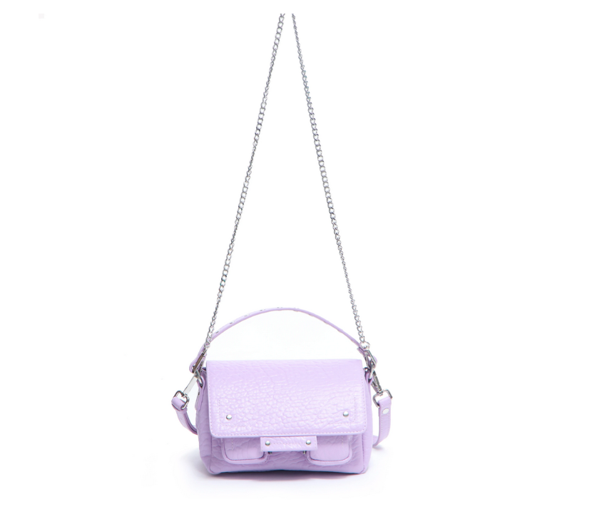 Small Honey Leather Bag-4