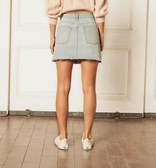 The Corey Demin Skirt-2