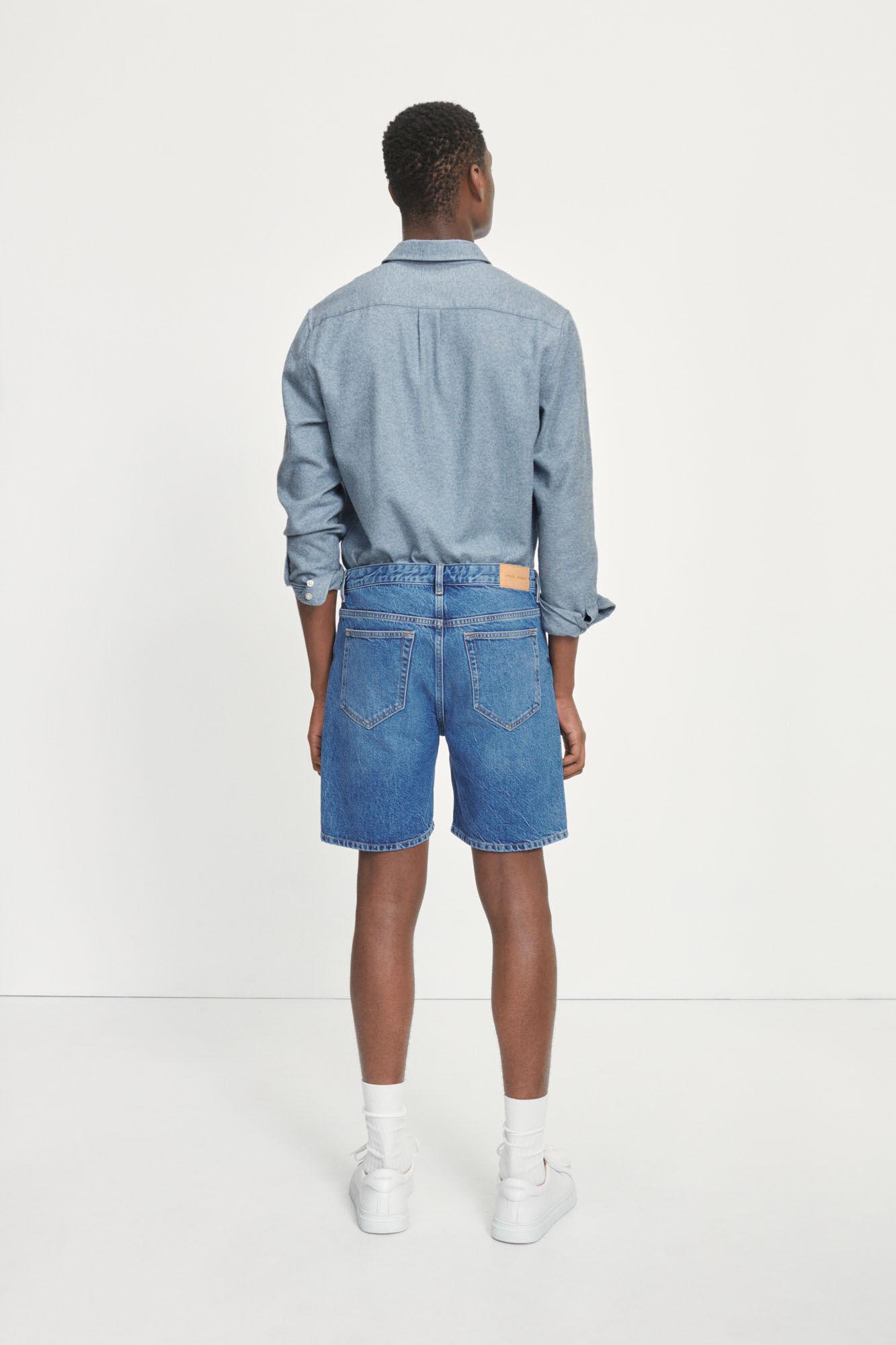 Rory Denim Shorts-5