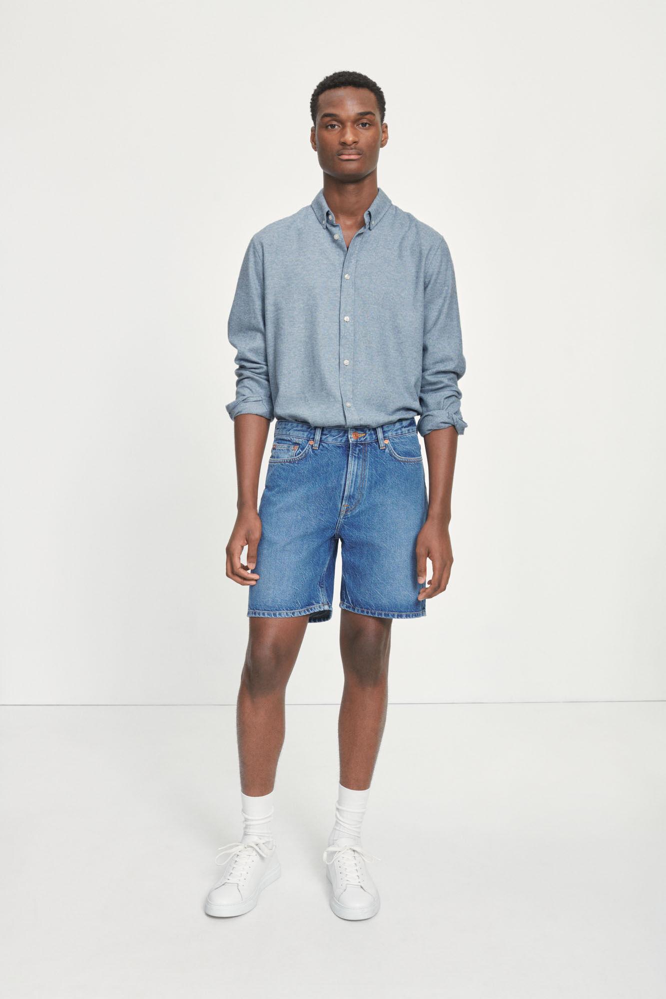 Rory Denim Shorts-1