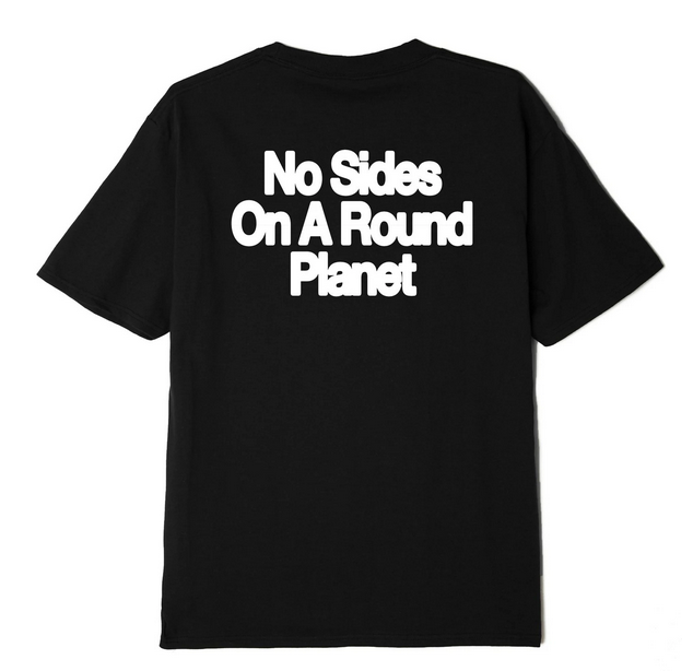 No Sides On A Round Planet T-shirt-1