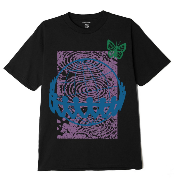 No Sides On A Round Planet T-shirt-2