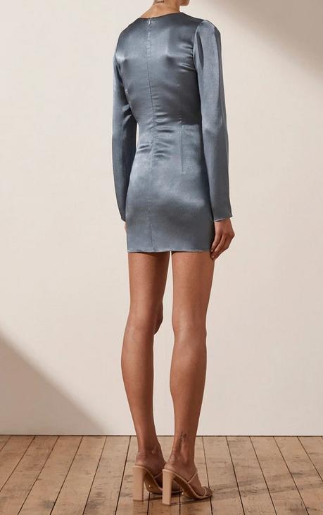 Lily Longsleeve Mini Dress-5