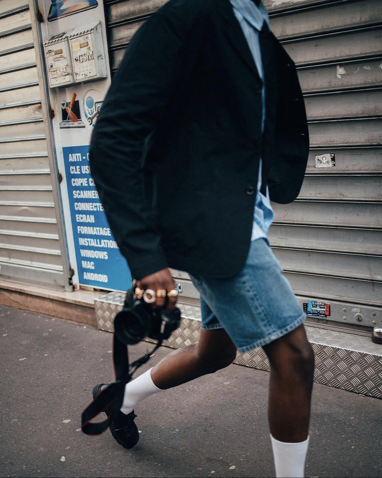 Rory Denim Shorts-2